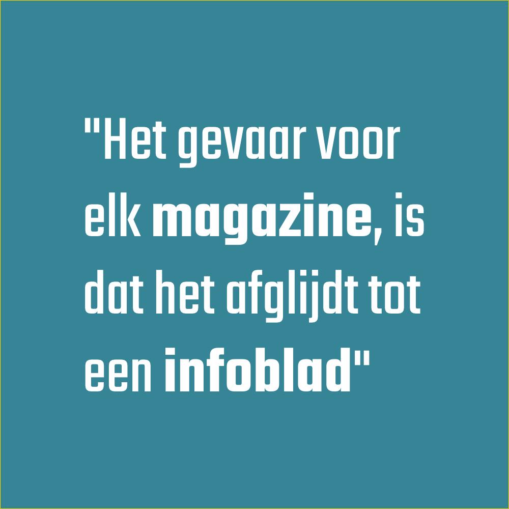 Magazine maken